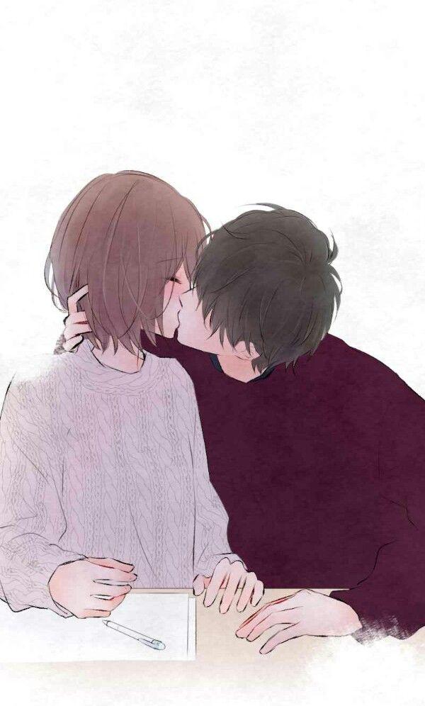 #LoveDoesn'tTalk #kiss#couple#cute#kawaii#webtoon