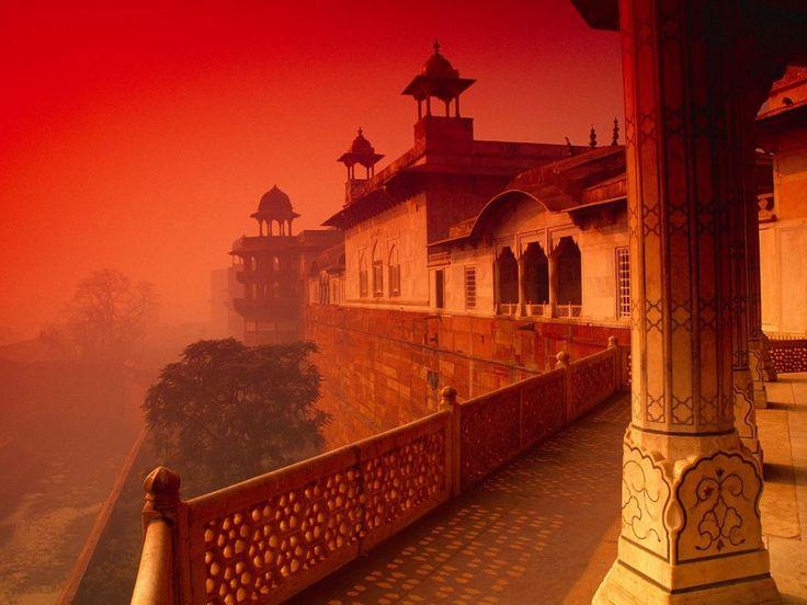 »✿❤Orange❤✿« Agra Fort - India