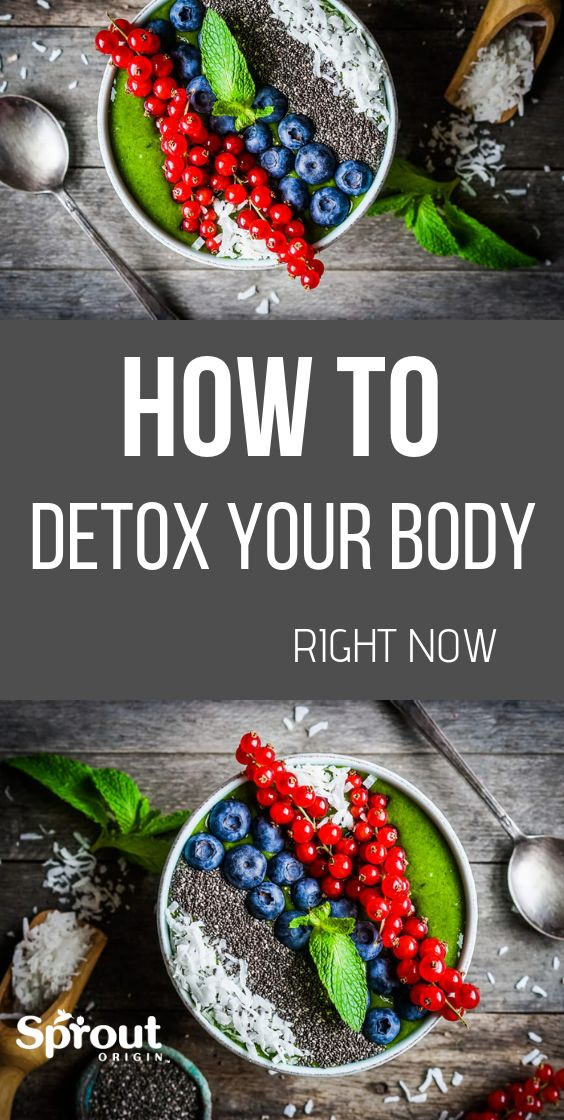 10 Simple Ways To Detox Your Body Right Now