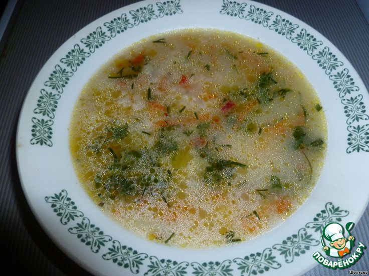 Суп овсяный ингредиенты