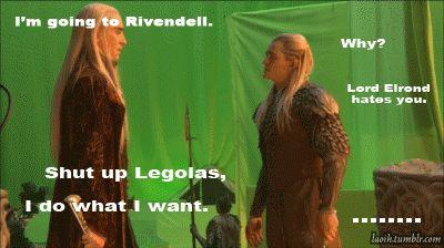 Legolas and Thranduil Funny