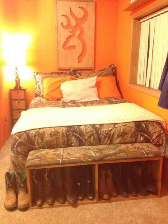 1000 ideas about camo bedrooms on pinterest army for Camo bedroom designs