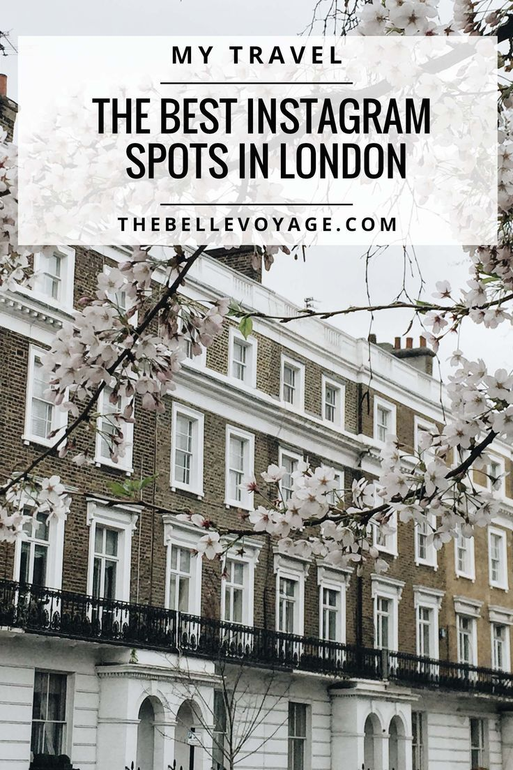 10 Best Instagram Spots in London  - including my favorite secret spot you've never heard of! | The Belle Voyage #london #travelphotography