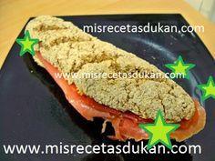La receta de pan Dukan ideal es dificil de conseguir. En este caso, la receta de baguette dukan salió buena tanto de sabor como aspecto, crujiente y apta.