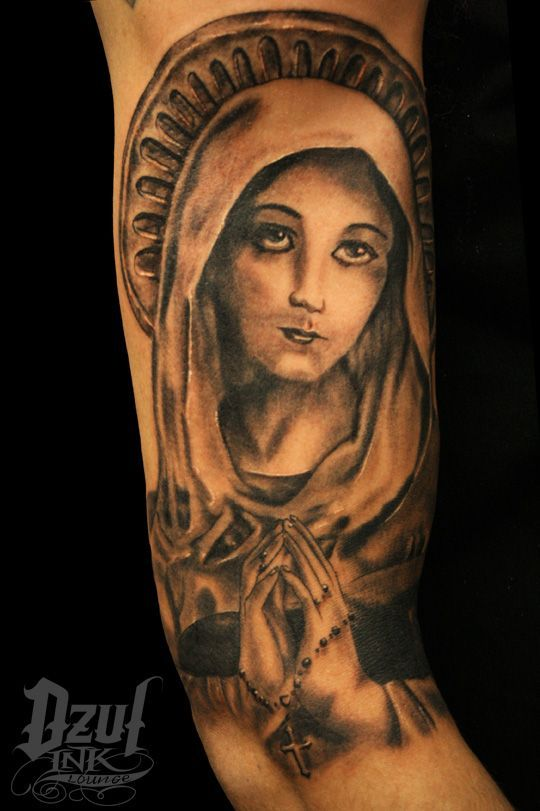 And More Religious Tattoos Virgin Mary The O Jays Tattoos And Body Art Bling Star Tattoos For