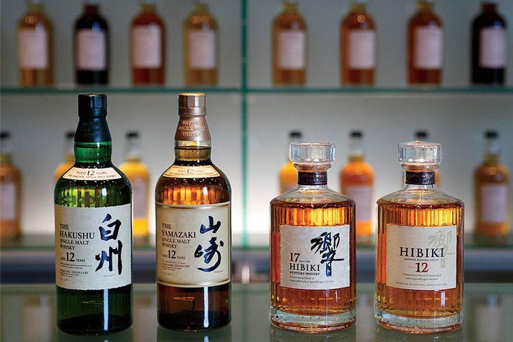 Japanese Whisky: The finest single malt in the world is no longer from Scotland. (Suntory Yamazaki, Suntory Hiibiki)