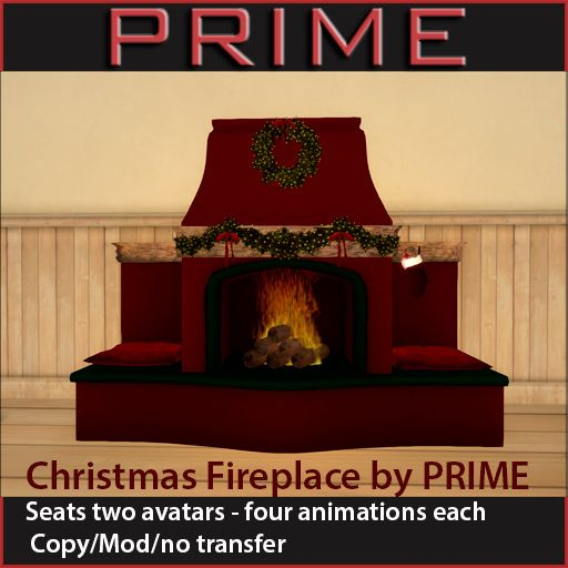 Christmas Fireplace for My 60 L Secret   Flickr - Photo Sharing!