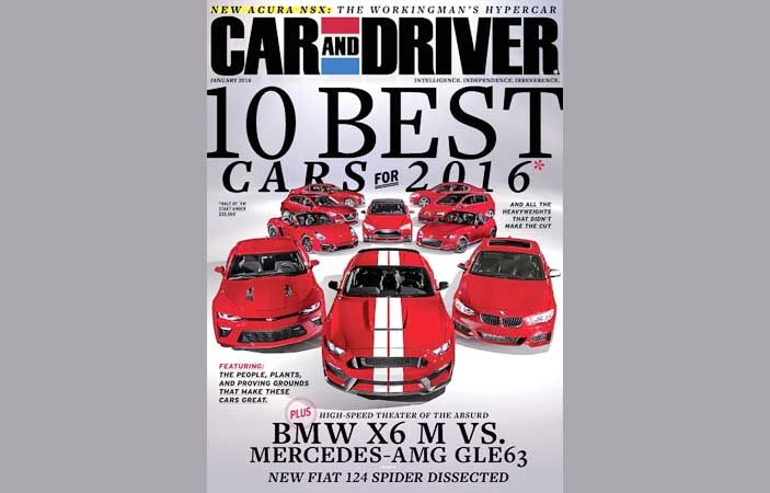 Fill out the form to get a Free 2 Year Subscription to Car & Driver Magazine. There are no strings