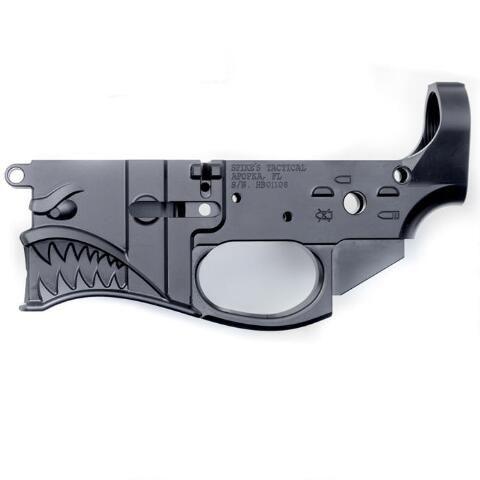 Spike's Tactical Hellbreaker AR-15 Stripped Billet Lower Receiver, Multi Caliber - STLB500 - 855319005556