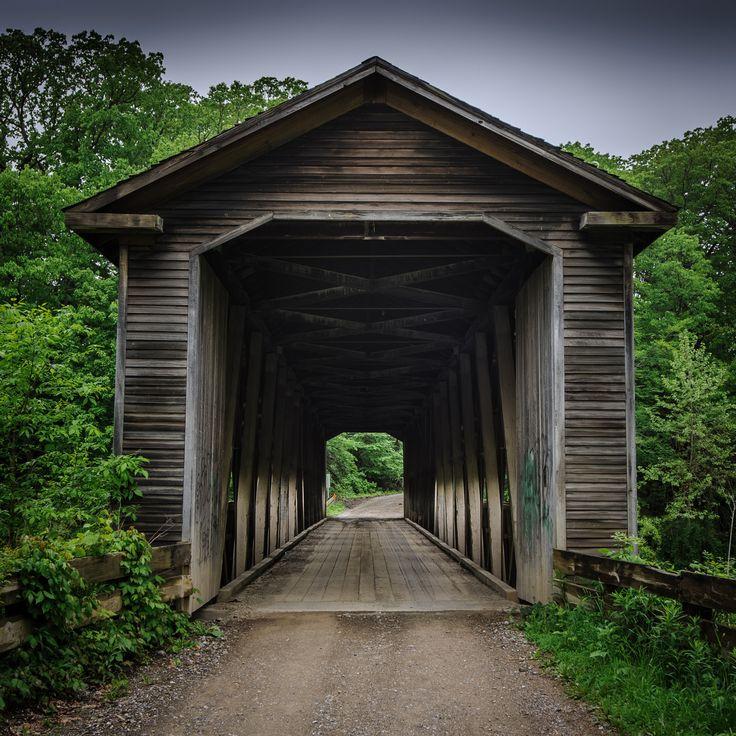 Middle Road #Covered #Bridge - The bridges of Ashtabula County, #Ohio    http://dennisharper.lnf.com/