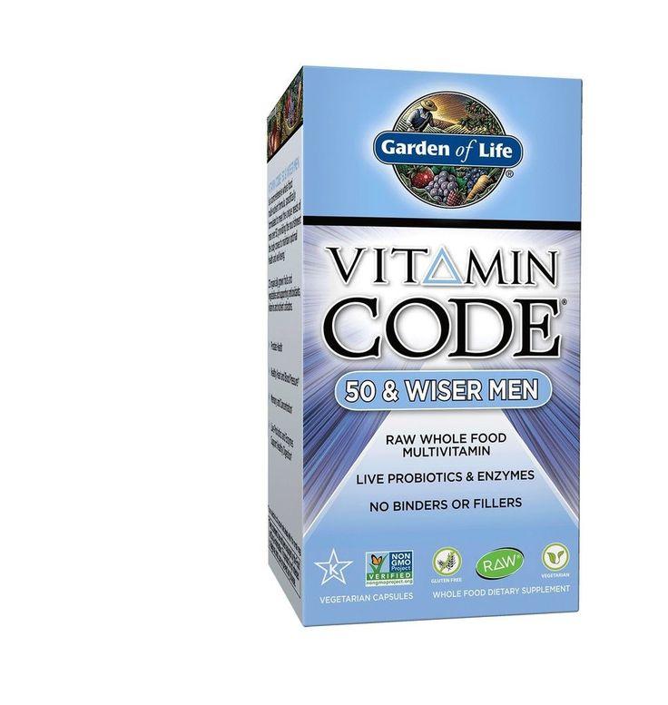 Garden of life multivitamin for men vitamin code 50