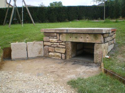 1000 ideas about barbecue en pierre on pinterest abris for Fabrication barbecue exterieur