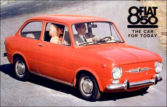 Fiat 850. My Dad had one of these. It rusted away in only 2 years.