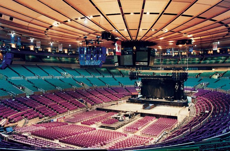 Madison Square Garden Concert Crowd | Walking Around Blog