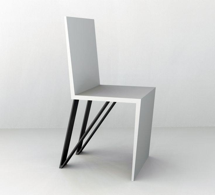 Chair inspired in Light, Simple, Clean design.  Manuel Moreno Furniture Designer @Portfoliobox