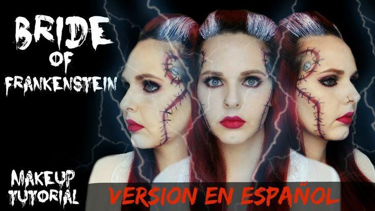 Tutorial de Maquillaje de La  Novia de Frankenstein- Version en Español