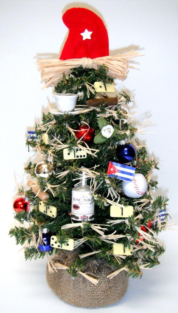 Cuban Themed Christmas Tree by goodtodcor on Etsy, $25.95   Holiday ...