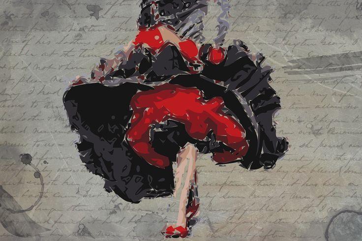 Flamenco Illustration
