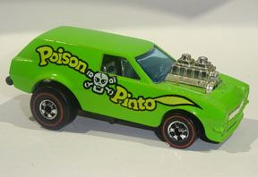 Vintage Hot Wheels Redline Poison Pinto