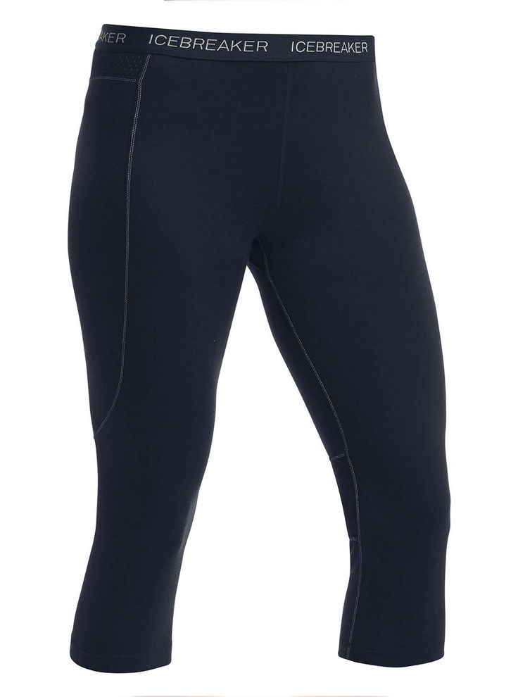 Eliminate unnecessary fabric on warmer clear days with the Icebreaker Zone Legless pant base-layer. This lightweight base-layer bottom keeps you cool with its mid calf length. It also features BodyfitZONE™ construction, which combines lightweight 200gm stretch merino wool to help regulate temperature. Purchase the bottoms at CAN-SKI.