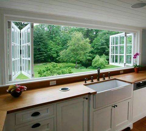 FRESH AIR KITCHEN WINDOWS...would you like this for your Kitchen?