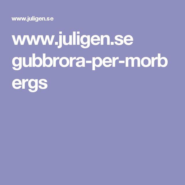 www.juligen.se gubbrora-per-morbergs