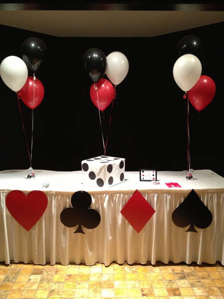 Vegas Themed Birthday Party