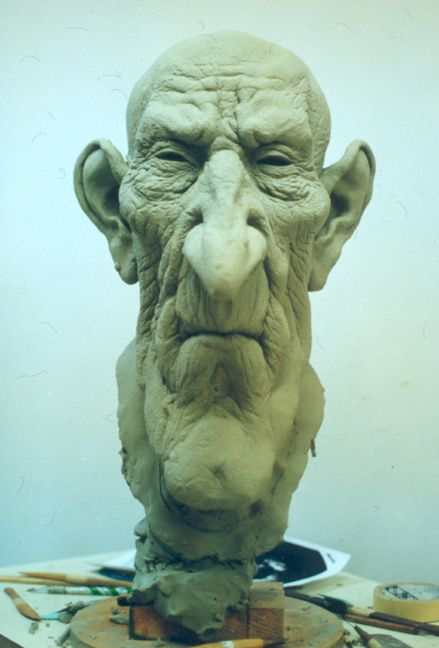 Undertaker, in clay progress. by dreamfloatingby on deviantART