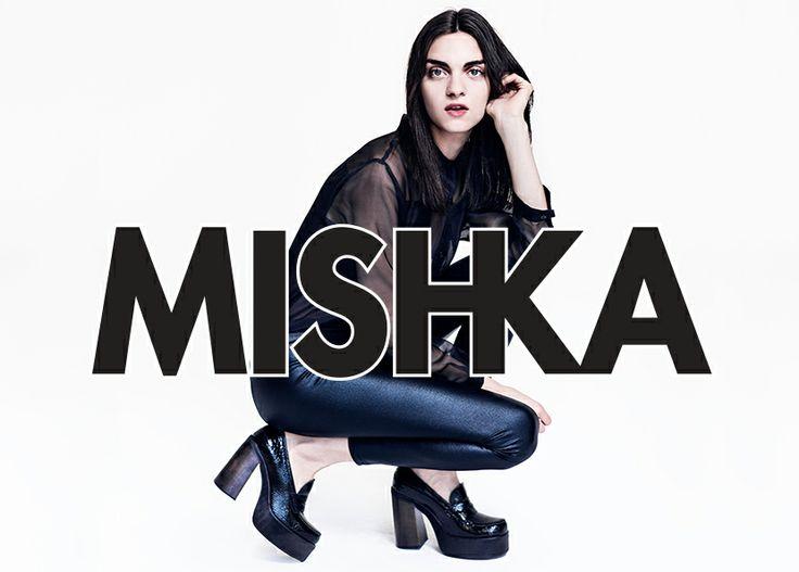 MISHKA FW 2014 Magda Laguinge por Pato Battellini, Arte Estudio Pardo