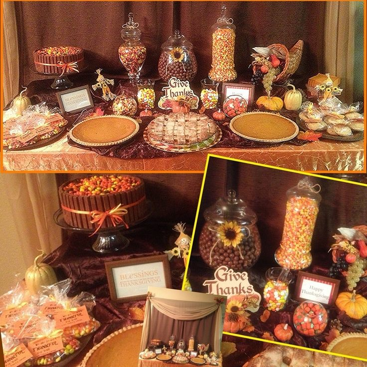 Best fall thanksgiving candy buffets and party ideas