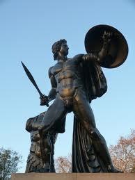 Achilles Statue Near The Wellington