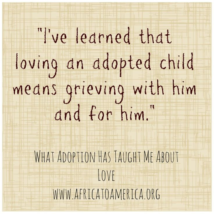 What adoption has taught me about love. That is true! I have adopted siblings and this is right on. Some day when I have my own little darlings I will learn this in a different way.