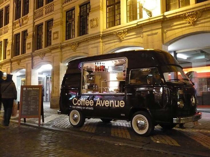 Cool mobile coffee shop