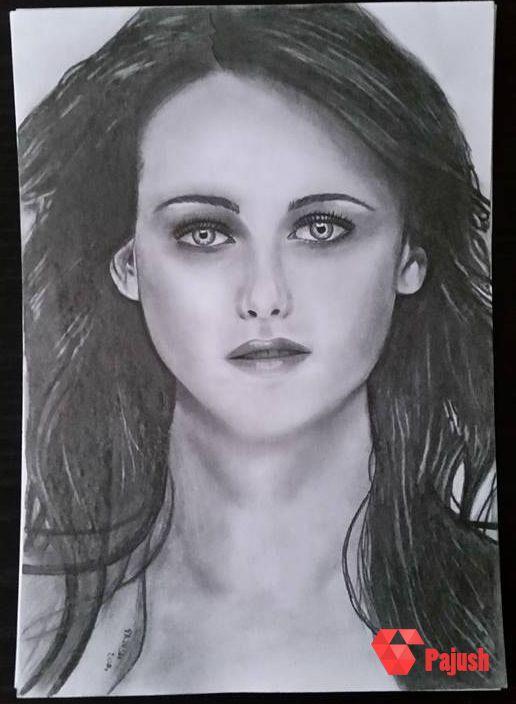 Bella Swan / Kristen Steward (main character of Twillight)