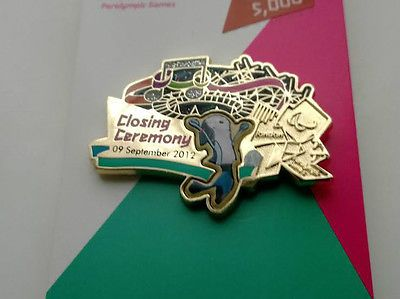London 2012 #olympics pin #badge - paralympics #closing ceremony , View more on the LINK: http://www.zeppy.io/product/gb/2/311447458997/