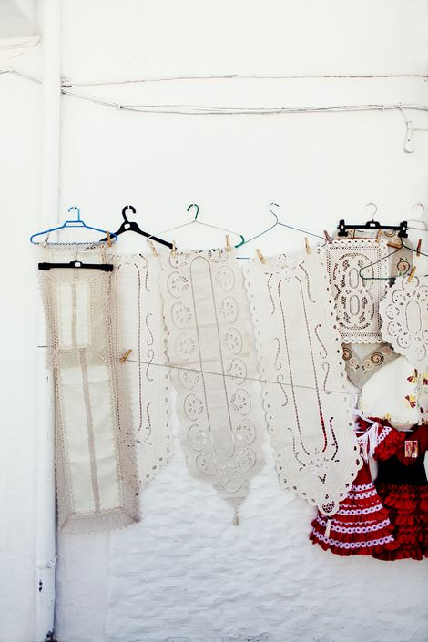 mijas, spainLace Crochet, Inspiration,  España, Lace I, Fleas Marketing Finding, Spain Spain, Display, Hangers, Beautiful Things