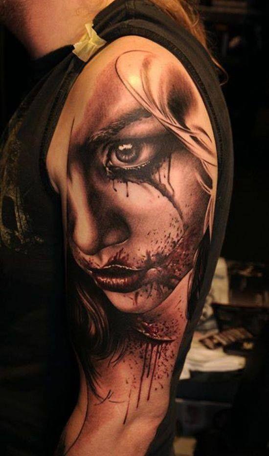 Arm Tattoo by Nikko Hurtado