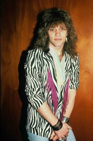 Jon Bon JoviWho doesn't love a man with big rock-star hair who isn't afraid to wear animal prints? Well, maybe the look is an acquired taste now, but when his band released their first album in 1984, fans went crazy for Jon Bon Jovi.