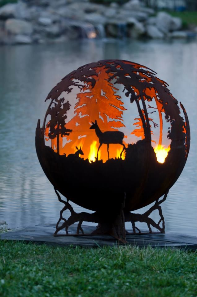 33 Best Images About Patio Firepits On Pinterest