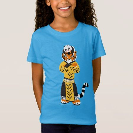 Tigress and Baby Panda T-Shirt - tap, personalize, buy right now!