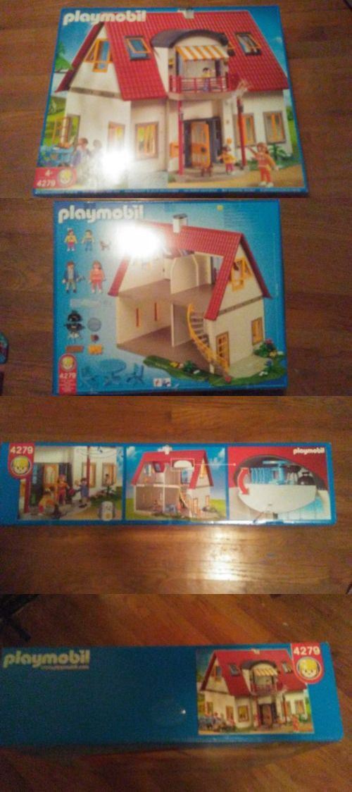 Playmobil 19854: Playmobil 4279 Suburban House, New, Sealed -> BUY IT NOW ONLY: $200 on eBay!