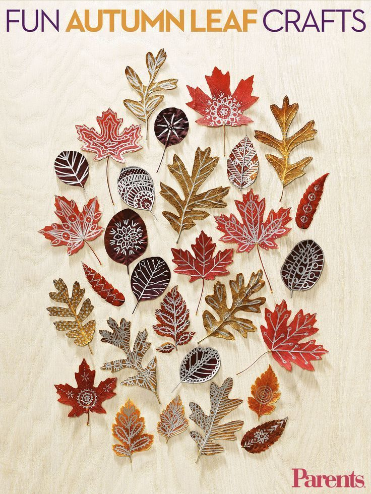 Encourage your family to take a fresh look at nature by making an ecofriendly art project out of leaves, a la @FamilyFunmag ! #crafts