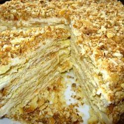 """Торт """"Наполеон"""" за 5 минут: и у плиты не нужно стоять"""
