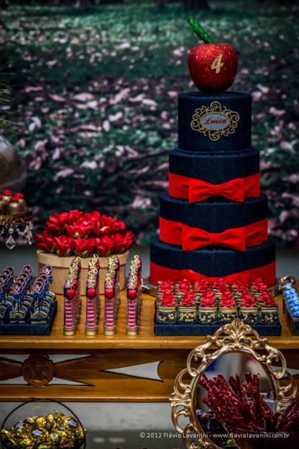 Disney Princess Snow White Girl Cake Party Planning Ideas Decorations