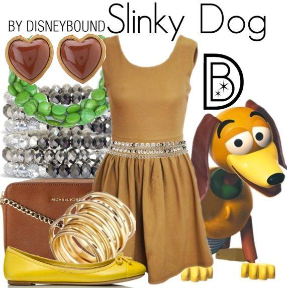Disneybound Slinky Dog From Toy Story Disneybounding