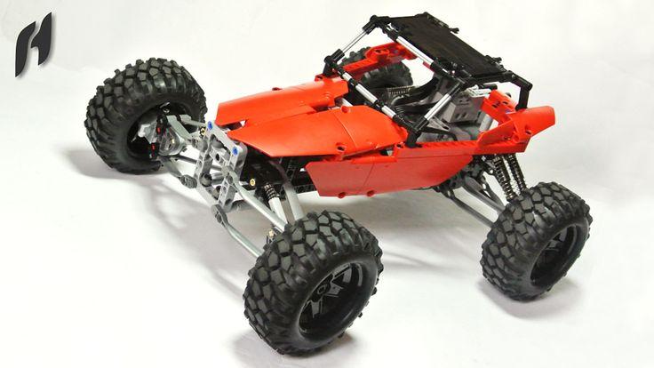 https://flic.kr/p/HtsqKR | Lego Technic Buggy | youtu.be/dYs0mRupo0g
