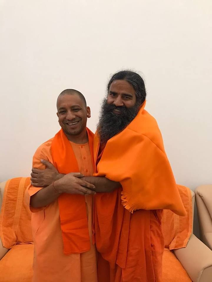 With Yogi Adityanath ji