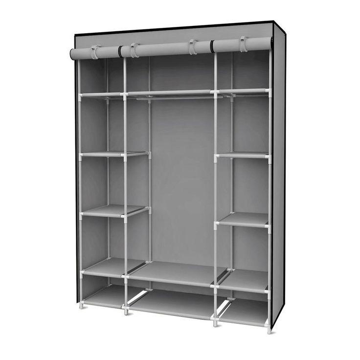 Inspirational Portable Wardrobe Closet With Shelves