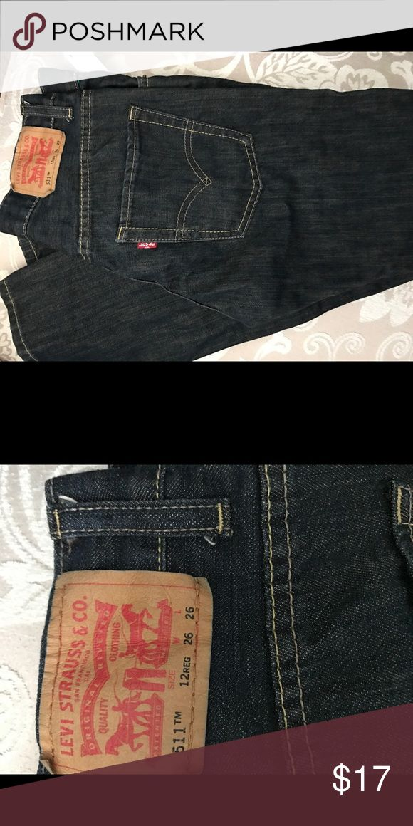 Girls 511 Levi's NWOT Girls Levi Jeans size 26 Super cute Levi's Jeans Skinny