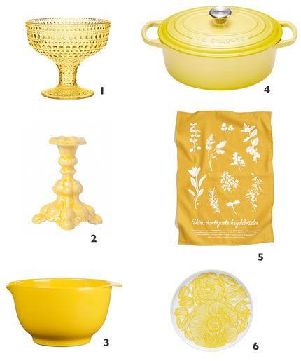 Elle Mat & Vin - Tips gul påskfint
